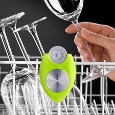 Spülmaschinen Frische-Duo - Frische und Glanz bei jedem Spülgang. Auf natürliche Art. Ohne Duftstoffe. Ohne chemische Zusätze.
