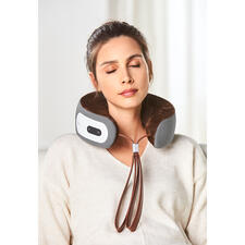 iNeck3 Nackenmassage-Kissen - Nackenmassage exakt nach Wunsch. Überall. Ohne Kabel und Steckdose.