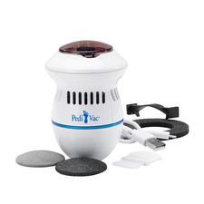 PediVac™ Pediküre - Viel hygienischer: die elektrische Pediküre mit Absaugfunktion.