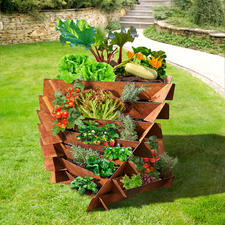 Perfekt auch für den Anbau von Gemüse.