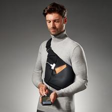 Baggizmo Crossbody Bag - Alle Wertsachen gut geschützt am Körper – und mit einem Griff zur Hand.