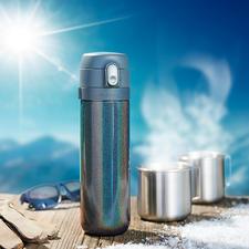 Thermo-Teebereiter - Mit patentierter Brühstopp-Funktion. Ohne Aufwand überall: frisch gebrühter Tee genau nach Ihrem Geschmack.