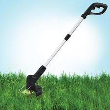 Hammersmith® Akku-Trimmer Bionic - Ruck-zuck: Rasen getrimmt und Kanten geschnitten. Ohne gerissenen Schneidfaden.