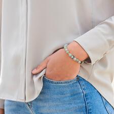 Das elegante Edel-Armband kombinieren Sie zu jedem Look, rund um die Uhr.