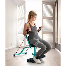 Ganzkörper-Hometrainer Total10 - Total 10: Der erfolgreiche Home-Fitness-Hit aus den USA – jetzt auch bei uns. 10 Übungen trainieren den gesamten Körper – in nur 10 Minuten.