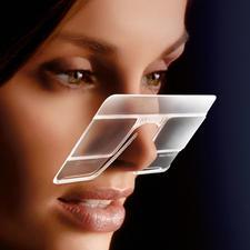 eyeCard®, 2er-Set - Ihre handlichste Lupe – im Kreditkartenformat. Mit 2,5facher Vergrösserung. Und beide Hände frei.