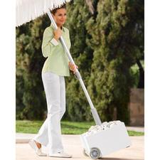 Rollbarer Schirmständer zum Bepflanzen - Jetzt wird Ihr Schirmständer zum Blumenbeet. Oder Steingärtchen, Dekoobjekt, … Wetterfest und rollbar.