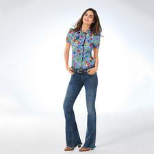 """Liu Jo Bottom up Flared-Jeans - Kaum eine Flared-Jeans lässt Ihren Po knackiger aussehen als die """"Bottom up"""" von Liu Jo Jeans, Italien."""