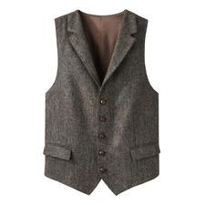 DAKS Tweed-Weste - Das perfekte Einzelstück: die Tweed-Weste aus reiner Schurwolle – rundum. Von DAKS London, Hoflieferant des englischen Königshauses.
