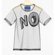 Viktor & Rolf Statement-Shirt - Klares Fashion-Statement: Das transparente Slogan-Shirt von Viktor & Rolf.