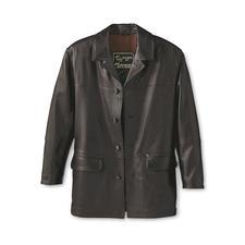Elchlederjacke - Zeitlos schöne Jacke aus seltenem Elchleder.