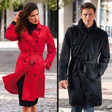 Knirps® Regen-Trenchcoat - Selten ist praktischer Nutzen so schick: der Trenchcoat vom Wetterschutz-Spezialisten Knirps®.