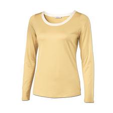 Seiden-Edelshirt - Überlebt Generationen billiger Shirts. Seltener Luxus aus 95 % Seide: Das Edel-Basic mit schimmerndem Lüster.