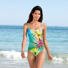 SunSelect®-Badeanzug Blumenwiese - Dieser Badeanzug wirkt wie eine gute Sonnencreme.