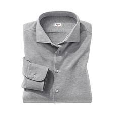 Ingram Jersey-Hahnentritt-Hemd - Bequem wie ein T-Shirt. Weich wie ein Flanellhemd. Und: Korrekt wie ein Businesshemd.