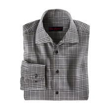 Kaschmir-Flanellhemd - Luxuriöse Rarität: Das Winterhemd mit feinstem Kaschmir. Angenehm wärmend. Wunderbar weich. Erfreulich günstig.