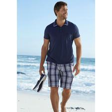 Aigle UV-Schutz Baumwoll-Polo - Endlich UV-Schutz in reiner Baumwolle.