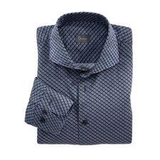 """Dorani Hemd """"Retro-Print"""" - Aktueller Retro-Druck, selten dezent: Ton in Ton und klein gemustert. Und stilvoll genug zum Business-Anzug."""