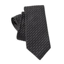 Ascot Relief-Krawatte - So schlicht und doch so aussergewöhnlich: die 3D-Krawatte mit Kalander-Relief. Aus 100 % Seide.