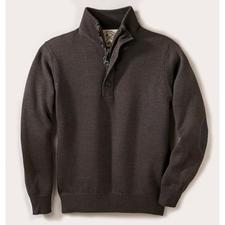Alan Paine Teflon®-Outdoor-Pullover - Reine Merinowolle, wasserabweisend durch dauerhaften Teflon®-Schutz. Der ideale Pullover für drinnen und draussen.