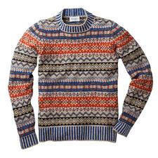 Eribé Fair-Isle-Herrenpullover - Der original Fair-Isle-Pullover: Niemals aus der Mode- und doch so schwer zu finden. Aus echter Shetland-Wolle.