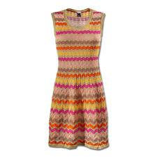 M Missoni Wellenstrick-Kleid, candycolour - M Missonis Wellenstrick-Klassiker in den aktuellen Sommer-Trendfarben.