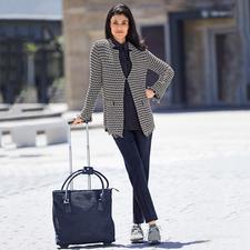 ANNECLAIRE Bouclé-Cardigan - So bequem und sommertauglich kann eine elegante Bouclé-Jacke sein. Aus luftig leichter Baumwoll-Mischung.