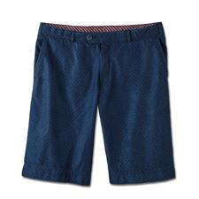 Hoal 4,5-oz-Denim-Bermudas - Die Jeans-Bermudas für den Gentleman. Sommerleichter 4,5-Unzen-Denim. Stilvolles Jacquard-Dessin.