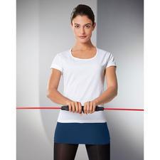 Als breiter Gürtel hält er die empfindliche Körpermitte warm, schützt vor Zugluft und fördert von der Körpermitte aus Ihre Durchblutung...