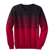 Farbverlauf-Streifenpullover - Mit effektvollem Farbverlauf: Die ausgefallene Art, modische Streifen zu tragen.