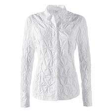 Batist-Stickereibluse - Die klassische weisse Bluse aus edlem Batist, allover bestickt.