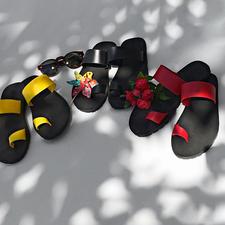 Paanda®-Flips - Die Luxus-Variante simpler Strand-Flips: Original Paanda®-Flips made in Italy.