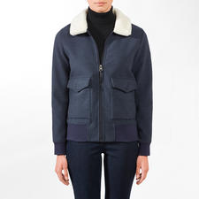 Aigle Damen-Fleece-Bomberjacke