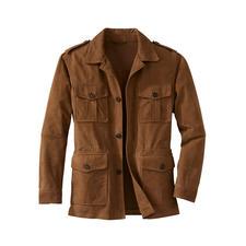 Waschbares Leder-Fieldjacket - Ihre Lederjacke für den Sommer – und für die Waschmaschine.