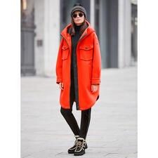 Goldbergh Sports-Couture- Parka, orange - Sportliche Streetwear oder stylishe Sportswear? Beides! Vom niederländischen Fashion-Press-Liebling Goldbergh.