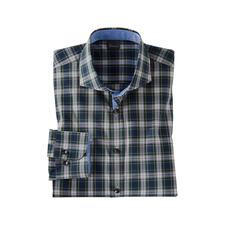 Campbell Dress (Blau/Weiss)