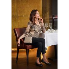 Pashma 30-Gauge-Paisleypullover - So luxuriös (und dennoch bezahlbar) sind die wenigsten modischen Print-Pullover.