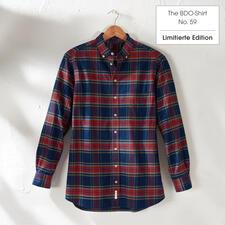 The BDO-Shirt, Limited Edition No.59, Regular Fit - Das lässige Baumwoll-Hemd aus luftig-feinem Oxfordgewebe. Entdecken Sie einen guten alten Freund. Und vergessen Sie, dass ein Hemd gebügelt werden muss.