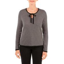 pos•sei•mo Schleifen-Pullover