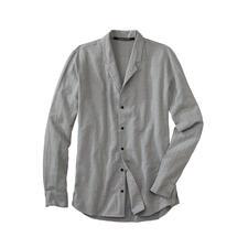 Hannes Roether Stehkragen-Hemd - Stehkragenhemden sind modisch hochaktuell. Aber nur die wenigsten sind so durchdacht.