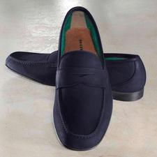 Fratelli Rossetti Barfuss-Mokassin, Leder - Frottee-Futter macht diesen Mokassin zum idealen Barfuss-Schuh. Von Fratelli Rossetti.