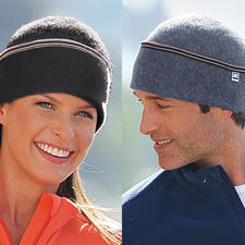 Die Hut-Mütze - Die Mütze aus weicher, gewalkter Schurwolle – passt sich perfekt an und kratzt nicht.