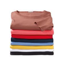 Erde, Pink, Rot, Marine, Jeans, Gelb, Weiss und Schwarz