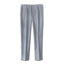 Seersucker-Hose Blue Stripes - Die perfekte Sommerhose: Luftig leichtes Seersucker-Gewebe – aber elegant genug fürs Büro.