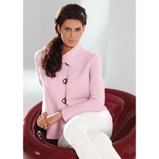 Belle ile-Strickjacke - Edel wie eine Couture-Jacke. Vielseitig wie eine Jeansjacke. Und bequem wie eine Strickjacke.