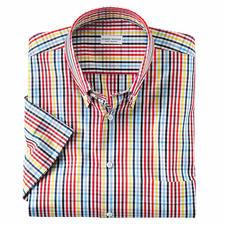 Sommerfrisches Karo-Kurzarmhemd - Das Sommer-Hemd, das zu allen Unis passt. Erfrischendes Karo-Dessin.