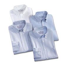 Weiss, Bleu/Weiss gestreift und Bleu