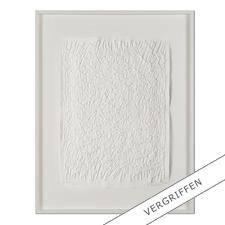 "Günther Uecker: ""Feld"", 2011 - Prägedruck auf 300-g-Bütten-papier  Auflage: 90 Exemplare   Exemplar: e.a.  Blattgrösse (B x H): 50 x 70 cm   Grösse mit Rahmung:  73 x 93 cm"