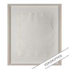 Günther Uecker – Reihung, 1972 - Prägedruck auf 300-g-Büttenpapier  Auflage: 100 Exemplare   Exemplar:e. a.  Blattgrösse (B x H): 50 x 60 cm   Grösse mit Rahmung: 74 x 84 cm