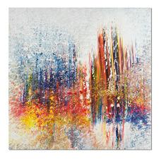 Benno Werth – Schichtarbeit - Exklusiv für Pro-Idee: Prof. Benno Werth editiert erstmals sein Lieblingswerk. Der erfolgreiche Künstler firnisst jedes der 20 Exemplare von Hand. Masse: 100 x 100 cm